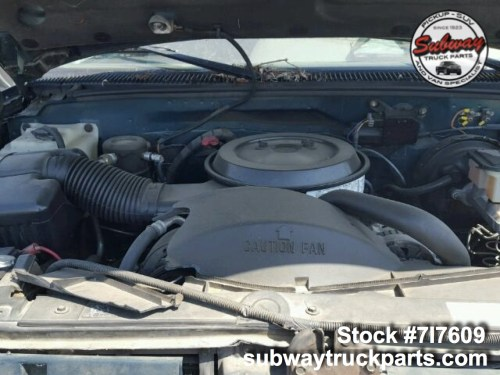 small resolution of used parts 1995 gmc sierra 2500 5 7l 4 4