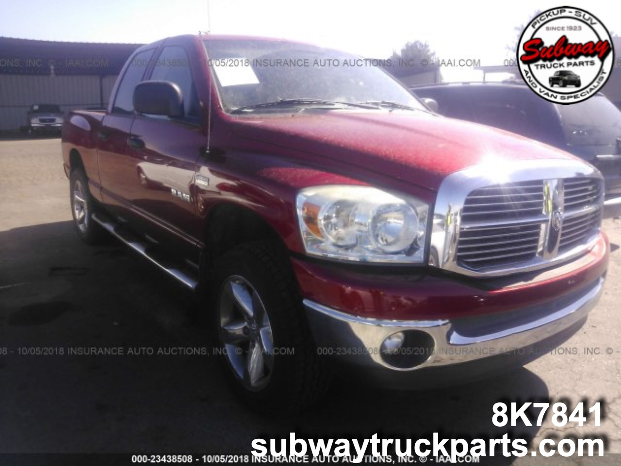hight resolution of used parts 2008 dodge ram 1500 5 7l 4 4