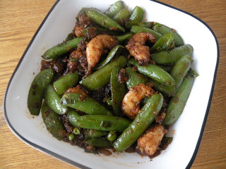 Sugar Snap Peas & Shrimp Stir Fry