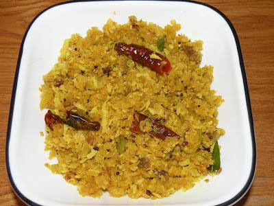 Raw Papaya Thoran