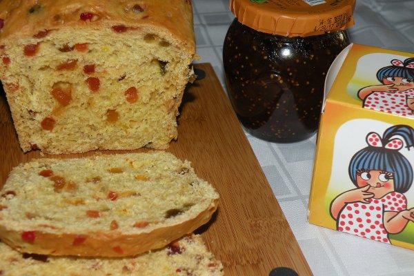 Tutti frutti bread 2