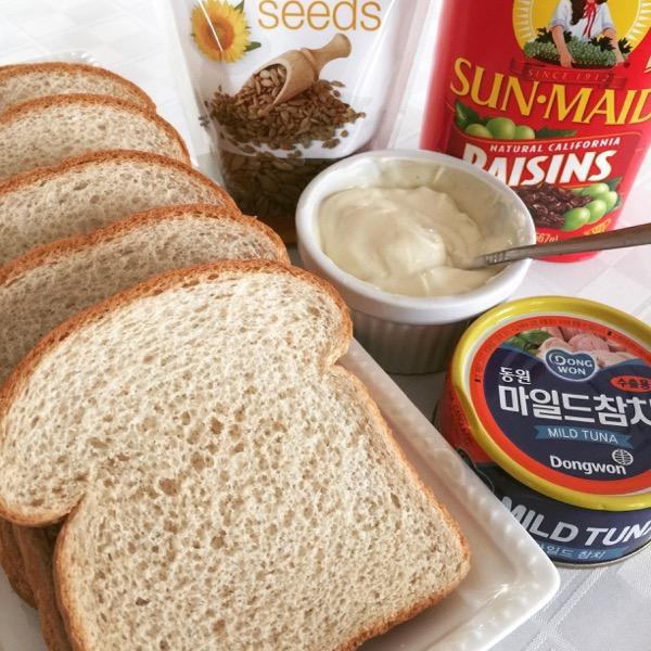 Tuna Sandwich with Wasabi Mayo