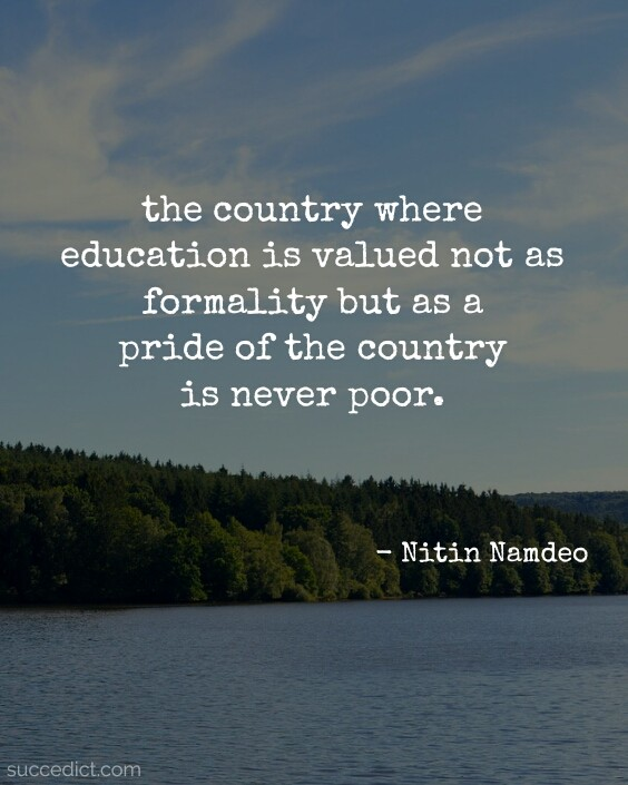 Quotes About Poverty And Education : quotes, about, poverty, education, Education, Quotes, Eradicate, Poverty, Nation, Succedict