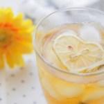 ハートレモンのアイスティー画像