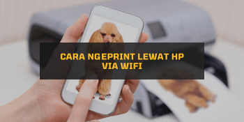 Cara Ngeprint lewat HP via Wifi
