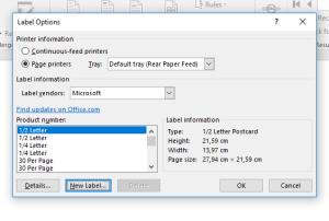 Cara Print Label Undangan 103 Cepat dan Mudah