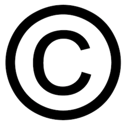 Image of the Copyright Symbol