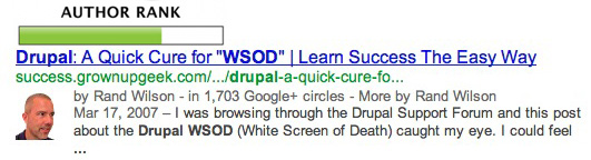 Author Rank in Google Search Results