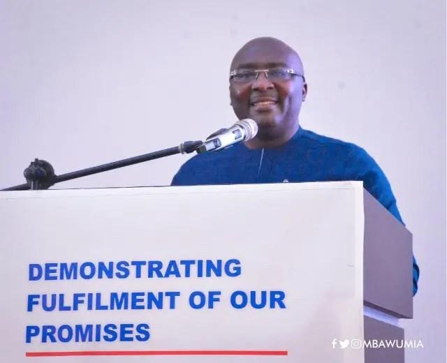 Hot audio: We won't apologise for arresting rapid depreciation of cedi - Bawumia