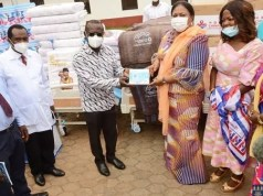 Photos: First Lady Donates to University of Ghana Hospital