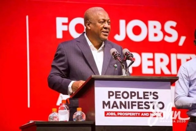"""Former President John Mahama says Ghana's economy is shrinking under the Akufo-Addo administration. According to him, the government has very little to show for the amount of money it has borrowed so far. """"In 2012, the size of Ghana's economy was 41.6 billion dollars. In 2016, on my watch as president it was 54.5 billion dollars – a nominal change of 13 billion dollars in 4 years. This year, 2020, on the watch of Akufo-Addo as president, Ghana's economy is projected to be somewhere 66 billion dollars, which means the NPP government in four years changed the size of the economy by 11 billion dollars – note in 4 years; 13 billion dollars under my watch and 11 billion dollars under NPP. This is what the data says, and it is verifiable. You can examine the data for yourselves. """"This government has meanwhile borrowed GH¢140 billion as against GH¢54 billion during my presidency"""". On Sunday, Mr. Mahama challenged President Akufo-Addo to point to a secondary school you has constructed since he won power in 2016. According to him, President Akufo-Addo is """"heavy"""" on giving promises but """"low"""" on delivery. """"Ghanaians know what my track record is; my opponent comes nowhere near me. When we talk about credibility; who is more credible when it comes to delivery on social infrastructure, everyone knows who is credible. """"He (President Akufo-Addo) should show me one secondary school he has built or one hospital he has built in four years. It is easy to say that we have better credibility when it comes to infrastructure with our opponent,"""" the NDC presidential candidate told TV XYZ in an interview Sunday."""