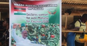 "The Okada Riders Association says the manifesto of the opposition National Democratic Congress gives them hope. According to the organisation, while the NDC is welcoming of their means of survival, the governing New Patriotic Party is flip-flopping with their stance on their operations. It comes on the back of the declaration by Vice President Dr Mahamudu Bawumia that the NPP government will not legalize Okada operations in Ghana. Addressing a news conference in New Abirem in the Birim North District, the riders said they will form a campaign strategy to get former President John Mahama elected in order to license their operations. ""Ladies and gentlemen, we want to make a bold and emphatic declaration after consulting our members across the country. At this juncture, we want to make it clear that commercial motorcycle and tricycle operators find hope in NDC's People's Manifesto. It addresses issues relating to our plight and we will do everything legally possible to ensure that the bearer of the idea, John Mahama wins the December 7 election. We call on all our customers, i.e. lawyers, teachers, bankers, soldiers, police officers, politicians, kayeyei, lecturers, engineers, seamstress, tailors, hairdressers, nurses, civil servants, assembly men, journalists, real estate agents, artisans and everybody who has patronized Okada due to the ease associated with its operations to join us campaign and vote for John Mahama and the Parliamentary candidates of the NDC. We can only be in business when John Mahama wins and majority of NDC Parliamentary aspirants win in the December elections. We also call on our family members, friends and dependants to join us secure our jobs on December 7. Securing our job is the only way we can continue to put food on the table and meet other needs,"" the group said. They added: ""We want to assure Mr Mahama that, not only have we resolved to vote for him in this elections, but we have also taken it upon ourselves to embark on a nationwide drive termed 'Get Okada Votes' (GOV) to ensure that all our members across the country speak through the ballot for legalization and regulation of our activities. ""Aside this, we want to tell Mr Mahama and the NDC that our members will be busy on election day. As part of our support, we will transport voters 'to and fro' their voting centres without charging a fee. There are other initiatives we will embark on in the coming days. For the sake of emphasis, commercial motorcycle and tricycle riders have endorsed John Mahama and his People's Manifesto."