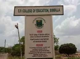 Bimbila E.P. College of Education Admission Forms 2021