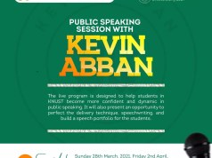 Kevin Abban To Organize Free Public Speaking Sessions
