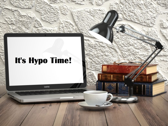 it's hypo time