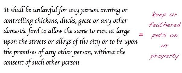ordinance
