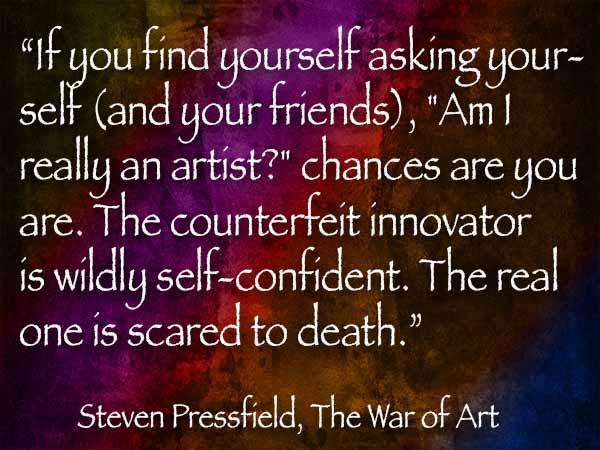 pressler war of art quote