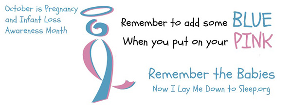 nilmdts banner for pregnancy and infant loss awareness month