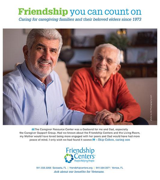 friendship center ad