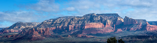 sedona arizona panorama photo