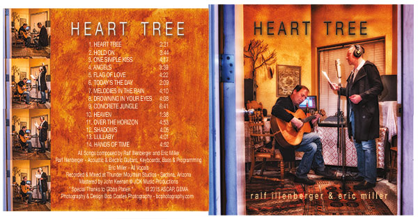 heart tree CD artwork