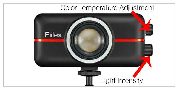 fiilex p-100 LED light