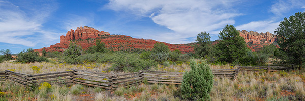 panorama photo sedona arizona