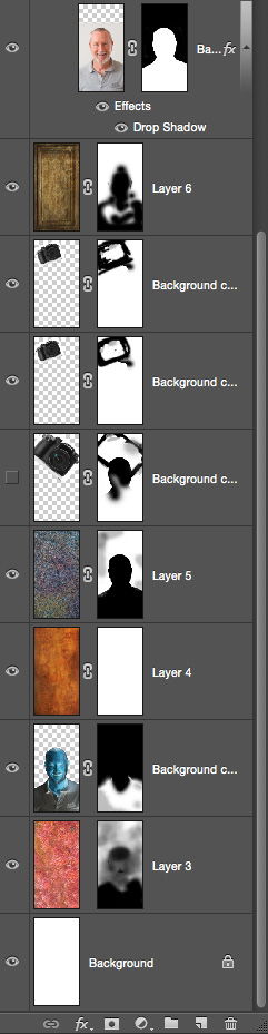 adobe photoshop screen shot layers palette