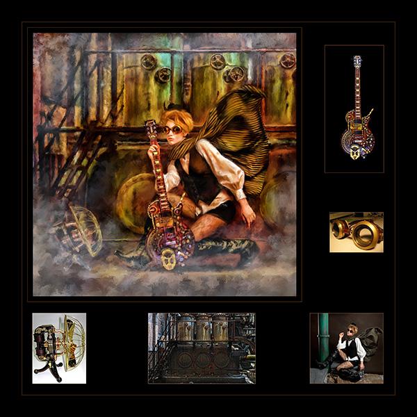 steampunk rockers © chandler studios
