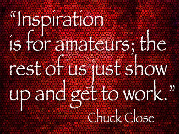 chuck close art quote