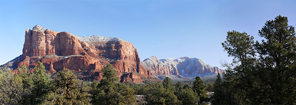 sedona arizona panorma