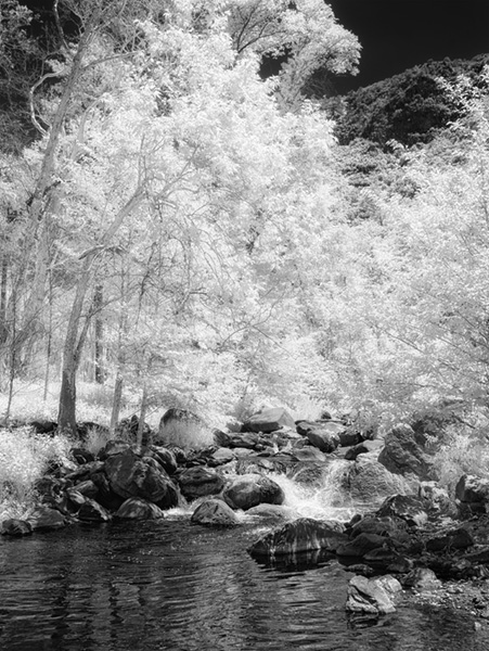 oak creek image infrared image