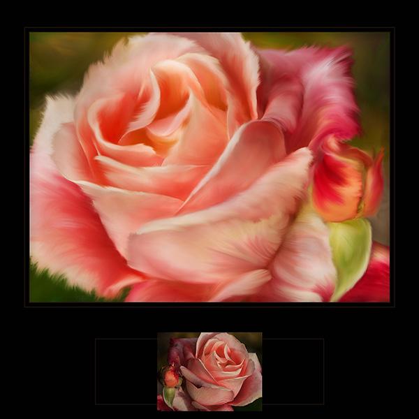 rose art image