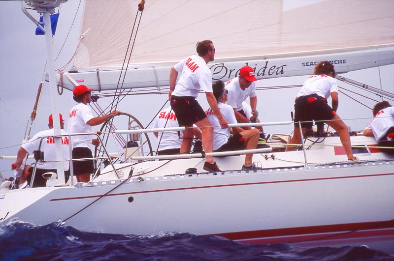 sailors racing photo