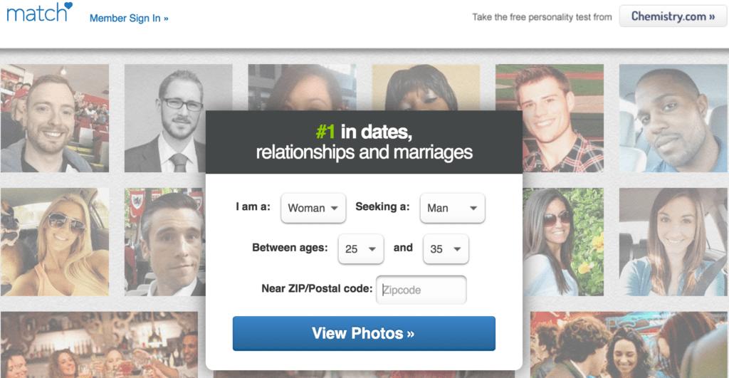 Dating sites zoals match.com