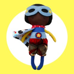 Superhero Boy Doll