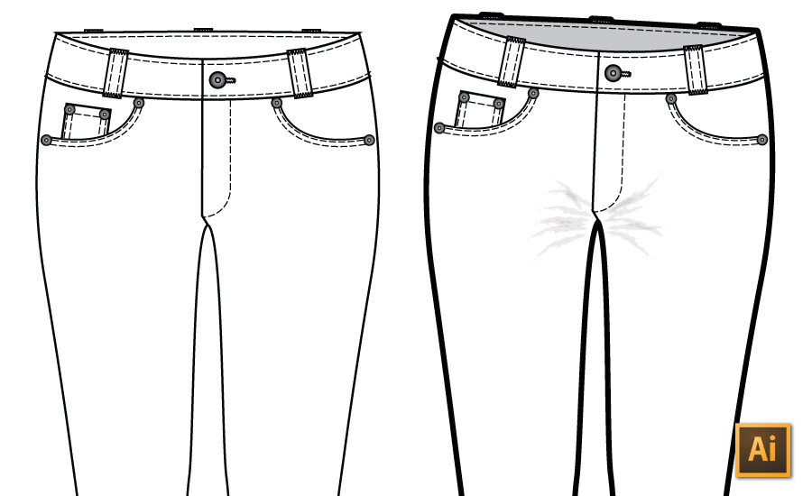 5 Quick Tricks to Sketch Realistic Fashion Flats in