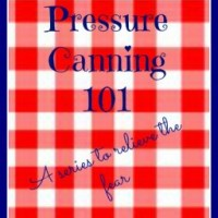 Pressure Canning 101- Chicken Soup