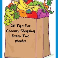 20 Tips For Grocery Shopping Every Two Weeks