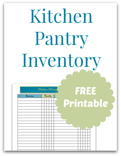 kitchen inventory appliance stores pantry