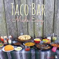 Taco Bar Made Easy