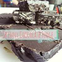 Skinny Chocolate Fudge- THM friendly
