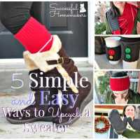 5 Simple and Easy Ways to Upcycle a Sweater