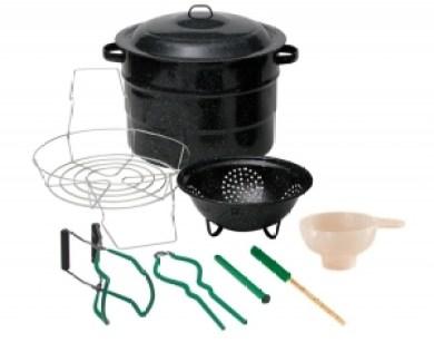 Granite Ware 0718-1 Enamel-on-Steel Canning Kit, 9-Piece