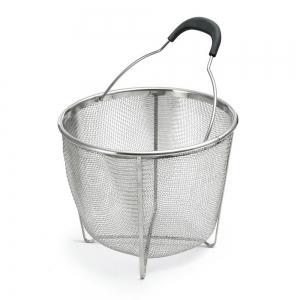 Polder Strainer Steamer Basket, Stainless Steel