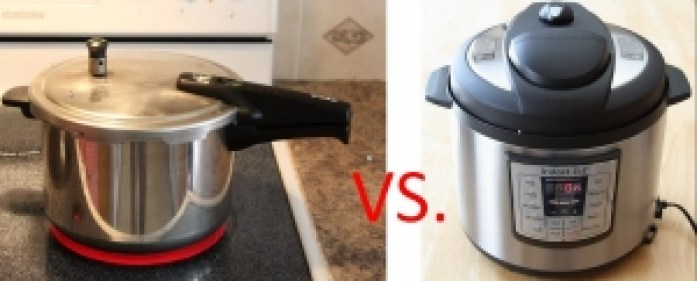 Distinction between stovetop and electric pressure cooker
