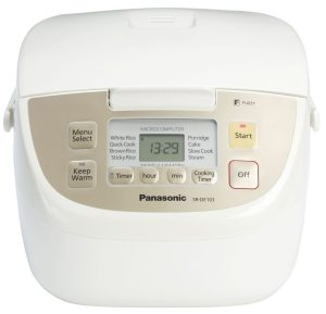 Panasonic SR DE103 Rice Cooker Review