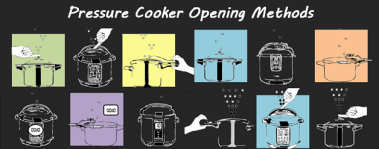 Opening Methods of Pressure Cooker