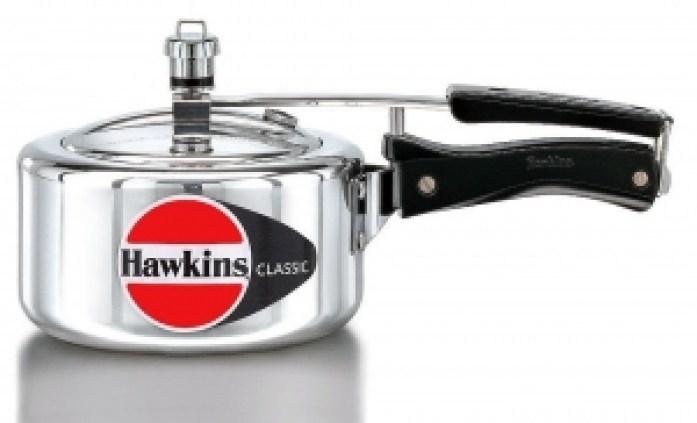 Hawkins classic Aluminum Pressure Cooker (3 liters):