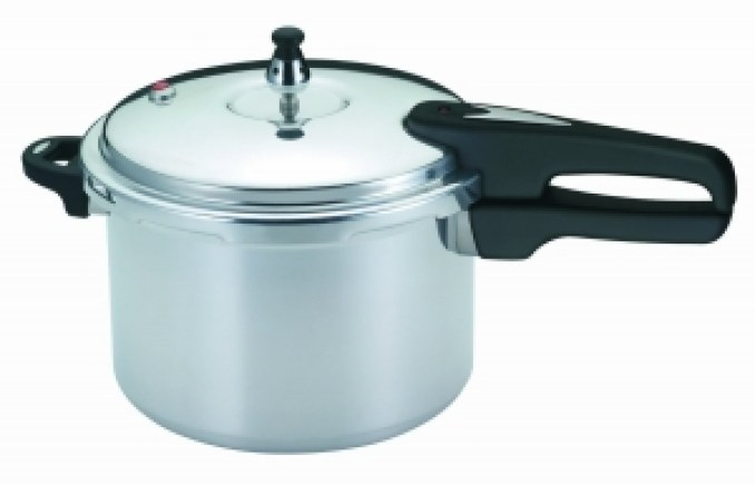 Mirror 92180A Polished Aluminum Pressure Cooker Cookware (8-Quart)